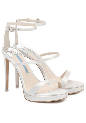 Rosalind 100 satin bridal sandals