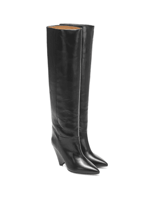 Lokyo leather knee-high boots