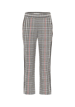 Gemini Houndstooth high-rise pants