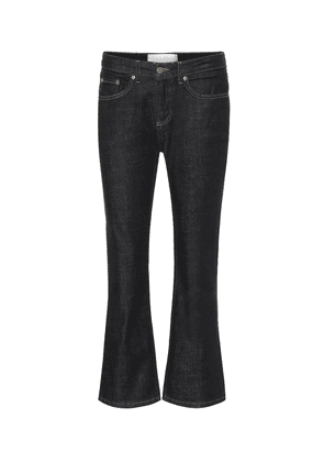 Kick Flare mid-rise jeans