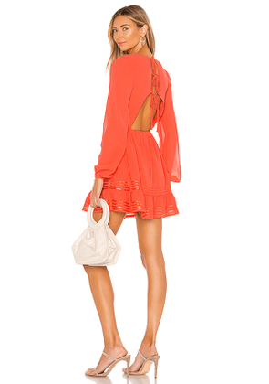 Lovers + Friends Allister Dress in Coral. Size L,M,S,XL,XS.