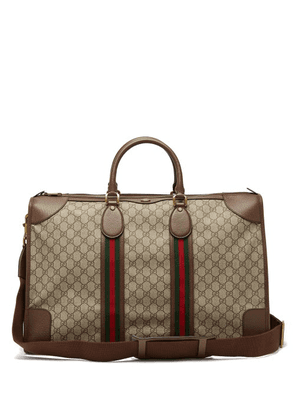Gucci - Ophidia Gg Supreme Weekend Bag - Mens - Beige