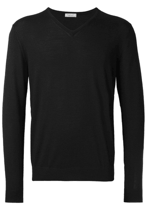 Fashion Clinic Timeless V-neck jumper - Black