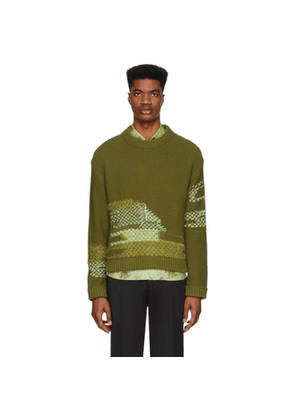 Andersson Bell Green Fransico Inside Out Sweater