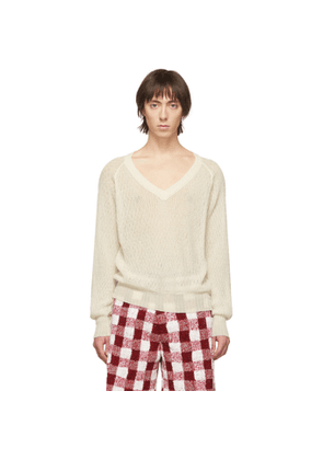 Judy Turner Off-White Laura Sweater