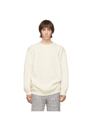 Judy Turner Off-White Fisherman Finn Sweater