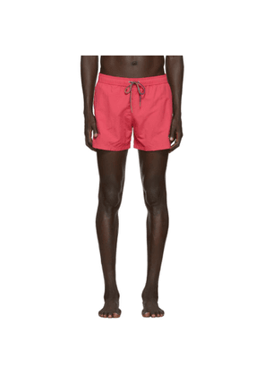 PS by Paul Smith Pink Zebra Swim Shorts