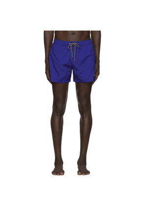 PS by Paul Smith Blue Zebra Swim Shorts