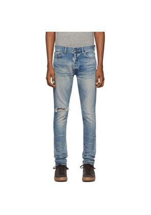 John Elliott Blue The Cast 2 Jeans