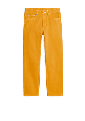REGULAR Overdyed Jeans - Yellow