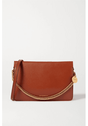 Givenchy - Cross 3 Textured-leather And Suede Shoulder Bag - Tan