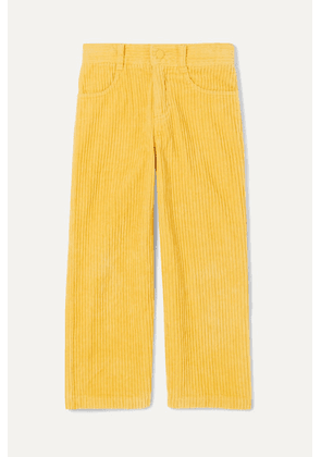 Stella McCartney Kids - Cotton-corduroy Pants - Yellow