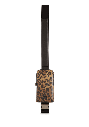 Leopard Print Leather Smartphone Case
