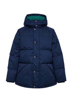 Aimé Leon Dore - + Woolrich Quilted Cotton-shell Hooded Down Jacket - Blue