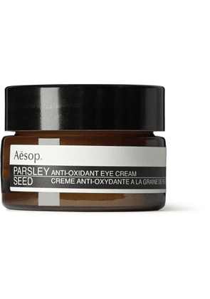 Aesop - Parsley Seed Anti-Oxidant Eye Cream, 10ml - Men - Colorless
