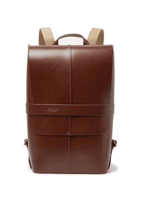 Brooks England - Piccadilly Vegetable-tanned Leather Backpack - Brown