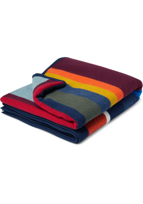 Best Made Company - The Anniversary Axe Wool and Cotton-Blend Blanket - Men - Multi