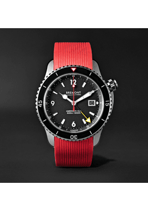 Bremont - Oracle II Automatic 43mm Titanium Watch with Rubber and Kevlar Straps - Men - Black