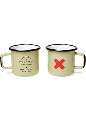 Best Made Company - Seamless & Steadfast Enamelled Cup Set - Men - Neutrals