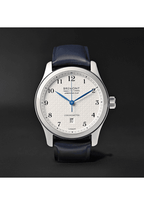 Bremont - AC I Automatic Chronometer 43mm Stainless Steel and Rubber Watch - Men - White
