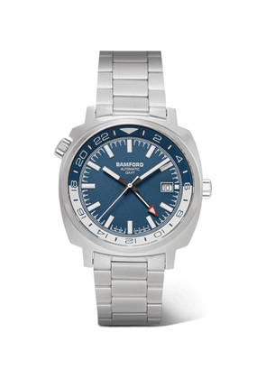 Bamford Watch Department - GMT Automatic 40mm Stainless Steel Watch - Men - Blue