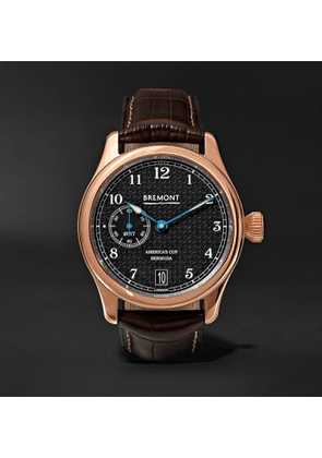 Bremont - AC35 America's Cup 43mm Rose Gold and Alligator Watch, Ref. No. AC35 - Men - Brown