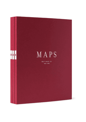 Best Made Company - The Map Notebooks Set - Men - Red
