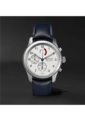Bremont - America's Cup Regatta Chronograph 43mm Stainless Steel and Rubber Watch, Ref. No. AC-R/SS - Men - Silver