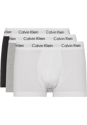 Calvin Klein Underwear - Three-Pack Low-Rise Stretch-Cotton Boxer Briefs - Men - Multi