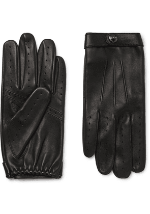 Dents - Flemming Leather Gloves - Men - Black