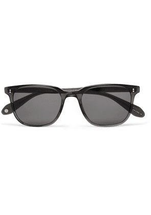 Garrett Leight California Optical - Emperor 52 Square-frame Polarised Acetate Sunglasses - Gray