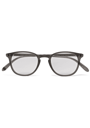 Garrett Leight California Optical - Kinney D-frame Acetate Glasses - Gray