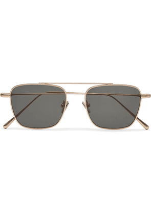 Cubitts - Collier Aviator-Style Gold-Tone Sunglasses - Men - Gold