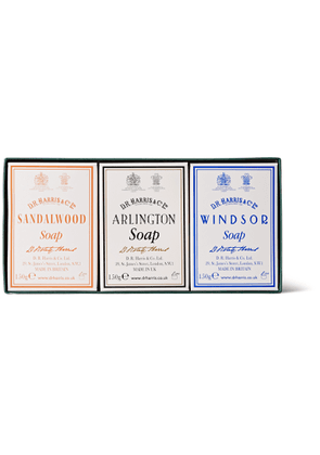 D R Harris - Three-Pack Scented Soaps - Men - Colorless