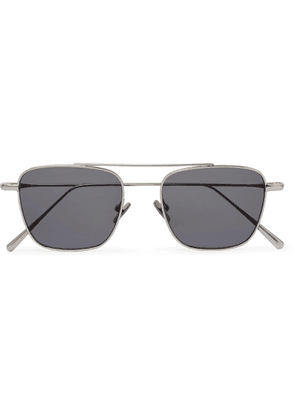 Cubitts - Collier Aviator-style Silver-tone Sunglasses - Silver