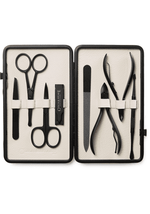 Czech & Speake - Leather-Bound Manicure Set - Men - Blue