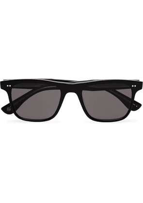 Garrett Leight California Optical - Wavecrest 50 Square-frame Acetate Polarised Sunglasses - Black