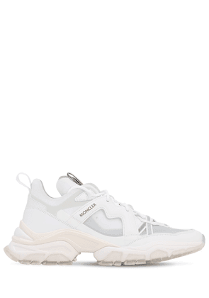 30mm Mesh & Leather Sneakers
