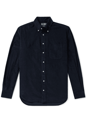Gitman Vintage - Button-Down Collar Cotton Corduroy Shirt - Men - Blue