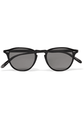 Garrett Leight California Optical - Hampton 46 Round-frame Acetate Polarised Sunglasses - Gray