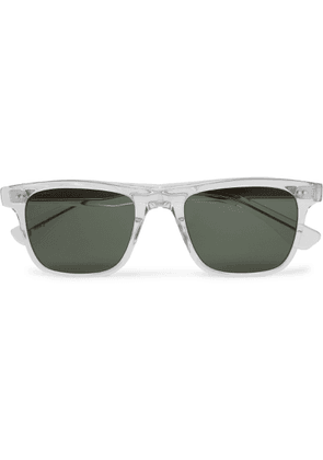 Garrett Leight California Optical - Wavecrest 50 Square-frame Acetate Polarised Sunglasses - Neutrals