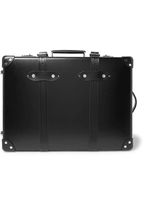 Globe-Trotter - Centenary 20 Leather-Trimmed Carry-On Suitcase' - Men - Black