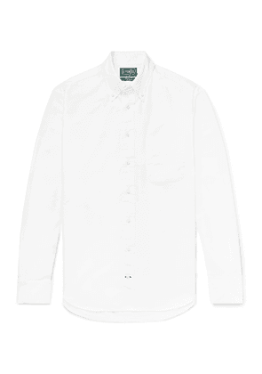 Gitman Vintage - Button-Down Collar Cotton Oxford Shirt - Men - White