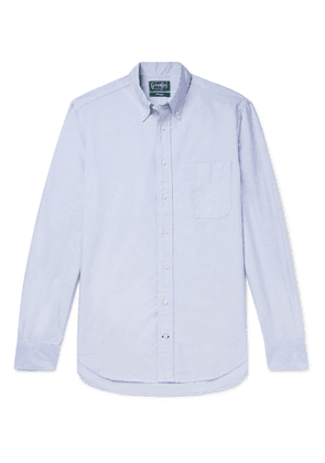 Gitman Vintage - Button-Down Collar Cotton Oxford Shirt - Men - Blue