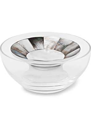 Lorenzi Milano - Crystal, Mother-Of-Pearl And Chrome-Plated Caviar Bowl - Men - Neutrals