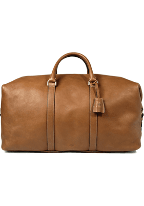 Mulberry - Clipper Leather Holdall - Men - Brown