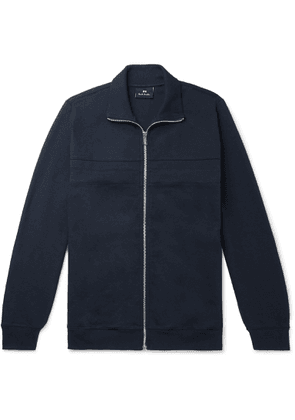 PS Paul Smith - Cotton-blend Jersey Track Jacket - Blue