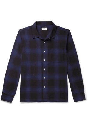 Universal Works - Checked Cotton Shirt - Men - Blue