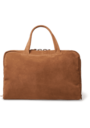 Álvaro - Álvaro 47 Leather-Trimmed Canvas Holdall - Men - Brown