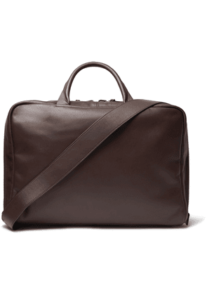 Álvaro - Arturo Leather Briefcase - Men - Brown